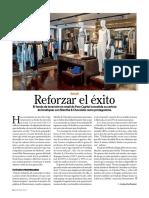 Revista G, Reforzar El Exito