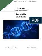 Portofoliu Biochimie