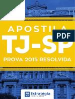 Prova Comentada TJSP 2015-Estratégia
