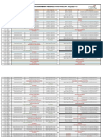 Prog 23 Time Table Updated
