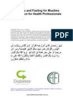 Diabetes and Fasting for Muslims 2008