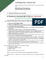 Cerinte Tehnologice PDCE 2017