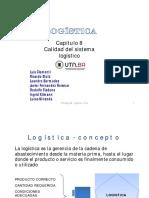 UT8 Calidad en El Sistema Logístico