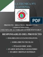 Proyecto Aerogenerador Santiago 2016