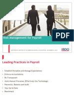 American Payroll Presentation Nov 4 Brian