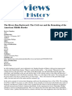 Reviews in History - The Rivers Ran Backward the Civil War and the Remaking of the American Middle Border - 2017-01-19