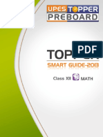 Topper Smart Guide-2010 Class-xii Math