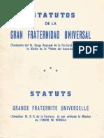 Estatutos de La Gran Fraternidad Universal