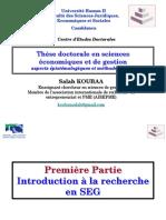 Méthodes de Recherche en Sciences de Gestion