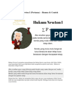 Hukum Newton 1, 2 , 3 Contoh Soal Dan Pembahasannya