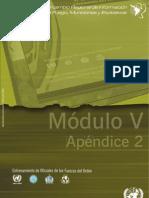Módulo V- Apéndice 2 - Comercio Legal de Armas de Fuego y Municiones