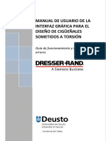 User Manual GUI