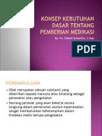 Konsep KDM Tentang Pemberian Medikasi