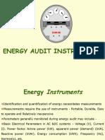 Energy Audit Instruments