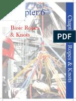 BSM 2009 Chapter6-BasicRopesKnots
