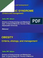 Kuliah - Obesitas - Metabolic Syndrome