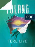 Ebook Novel Tere Liye Hujan