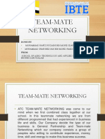 Team Mate Netowrking
