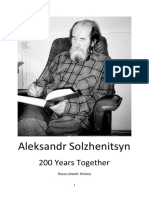 200 Years Together - Solzhenitsyn