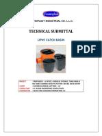 Upvc Catch Basin Submittal - Cosmoplast