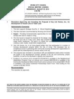 IrvingCC Agenda 2010-08-25