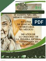 Expresiones Veterinarias, Agosto de 2010