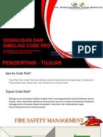 Sosialisasi Dan Simulasi Code Red RSPUR