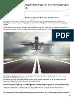 Bundesregierung Fliegt Flüchtlinge Mit Charterflugzeugen Aus Griechenland Ein_lupocattivoblog