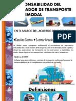 Operador Multimodal en El Marco Del Acuerdo de Cartagena