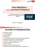 8. Malaysia - Nuclear Regulatory Infrastructure