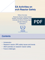 IAEA Activities on Research Reactor Safety