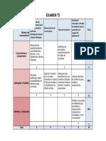Matriz de Evaluación de Los Aprendizajes T2