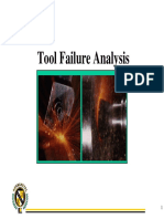 2.1 Tool Failure Analysis