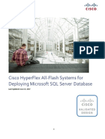 CVD - Cisco HyperFlex All-Flash Systems for Deploying Microsoft SQL Server Database