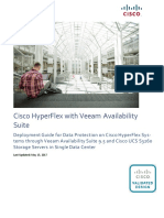 CVD - Veeam Availability Suite 9.5 and Cisco UCS S3260
