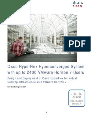 CVD - 2400 VMware Horizon 7 Users | Desktop Virtualization | V Mware