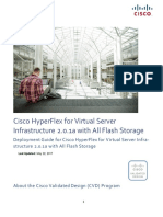 CVD - Virtual Server Infra-structure 2.0.1a With All Flash Storage