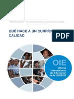 Que hace a un curriculo de calidad UNESCO.pdf