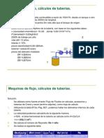 Maquinas de flujo, cálculos de tuberías