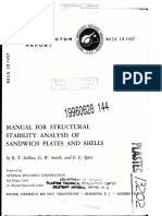 NASA-CR-1457 Manual for Structural Stability Analysis of Sandwich Panels (3)
