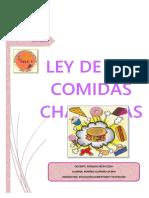 Ley de La Comida Chatarra