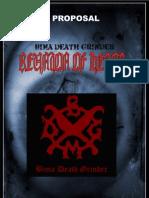 Bima Death Fest Proposal
