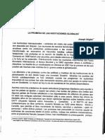 Papel de Los Organismos Financieros f.m.i; Banco Mundial y o.m.c.