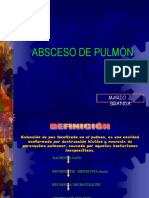 Abcseso de Pulmon