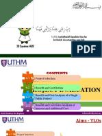 Chapter 6 [Kuliah] - Project Evalation Method