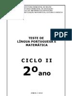 2°Teste-Alfamat2010-II
