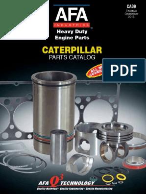 CAT CATERPILLAR D333 ENGINE PARTS BOOK MANUAL S//N 87B1-UP