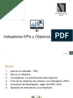 Indicadores y Objetivos (KPI´s)