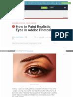 Design Tutsplus Com Tutorials How to Paint Realistic Eyes In Photoshop
