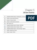 PLAXIS-3D Dam Stability